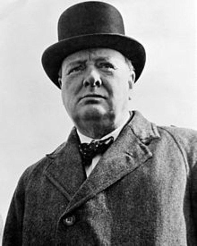 10. Winston Churchill, İngiltere Başbakanı, 1938
