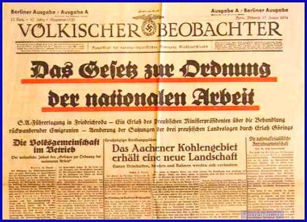 Alman Volkischer Beobachter Gazetesi
