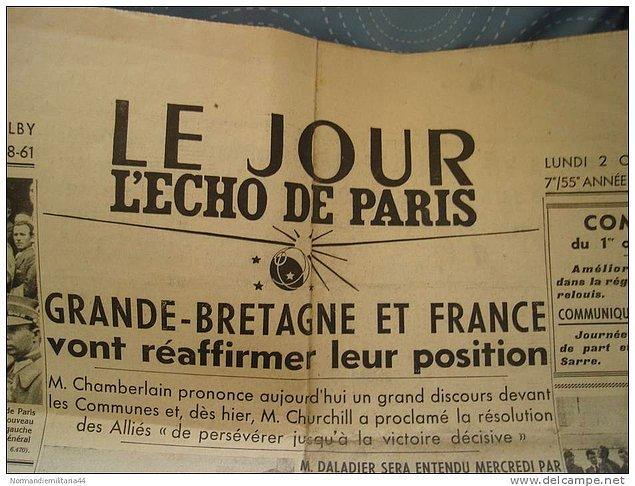 25. Le Jour-Echo de Paris