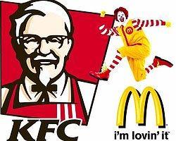 McDonalds ve KFC'de Tarihi Geçmiş Fast Food!