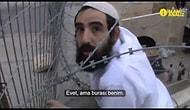 Filistin Bayrağını İndirmek İsteyen İsrailli