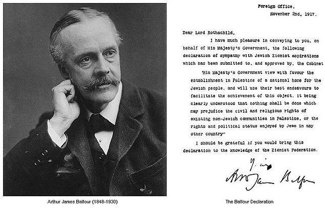 4. Balfour Deklarasyonu