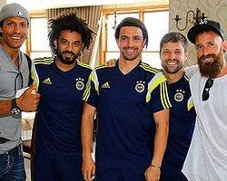 Alves ve Meireles Kampa Katıldı