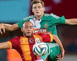 Galatasaray Viyana'da Gülemedi!