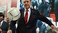 Erdoğan Yeşil Sahalara Dönüyor!