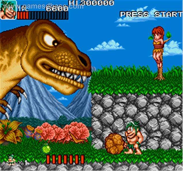 11. Caveman Ninja (Stone Age)