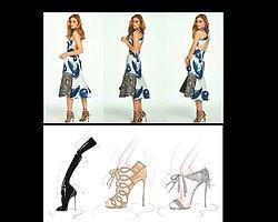 Olivia Palermo Ayakkabı Tasarladı