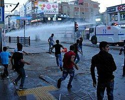 Van'da Erdoğan'ın Mitingi Sonrası Sokaklar Karıştı