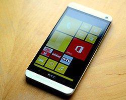 HTC One M8'in Windows Phone Modeli Geliyor