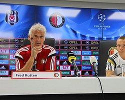 Feyenoord Teknik Direktörü Rutten Maç Öncesi Basın Toplantısı Düzenledi