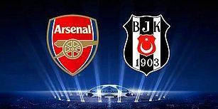 Şampiyonlar Ligi Elemelerinde Arsenal'le Eşleşen Beşiktaş Taraftarının Sosyal Medyadaki Tepkileri