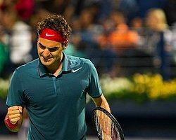 Federer Hediyesini Kendisi Çıkarttı