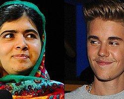 Justin Bieber Malala Yusufzay ile Facetime Yaptı