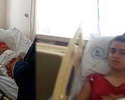 Bacağı Kesilen Kübra'nın Hasta Yatağından İlk Görüntüsü