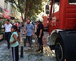 Kartal'daki Dönercide Çıkan Yangın Paniğe Sebep Oldu
