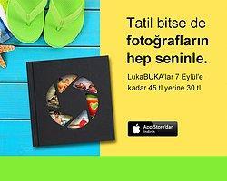 Cep telefonunuzdan fotokitabınızı tasarlamanızı sağlayan uygulama LukaBUKA; 18 Ağustos – 7 Eylül tarihleri arası 45 TL yerine 30 TL!
