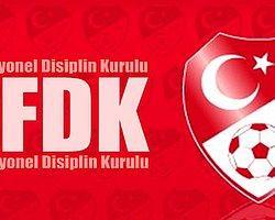 PFDK'dan Şok Ceza