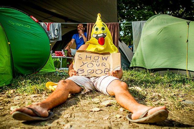 16. Özgürlük Adası sakinlerinin mizah anlayışı