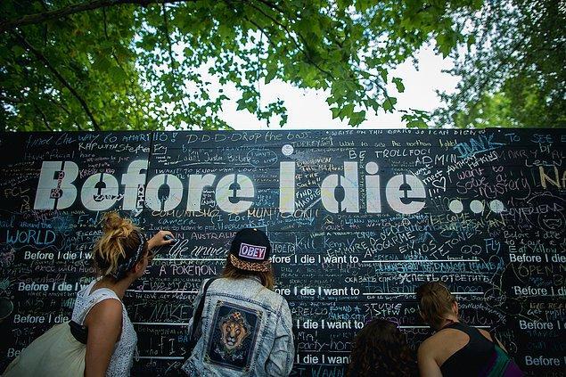 "5. ""Before I Die"" duvarı"