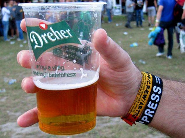 20. Ortalama fiyatı 5 TL'e denk gelen biralardan hektolitrelerce içmek