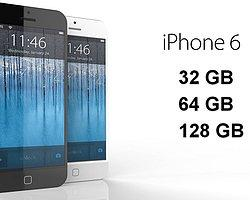 iPhone 6'da Sıra 128 GB'da