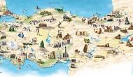 Türkiye'deki Her Bir İlin Kendisiyle Özdeşleşmiş Olan 81 Unsuru