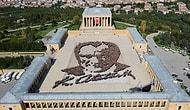 Dünyanın En Büyük Canlı Atatürk Portresi