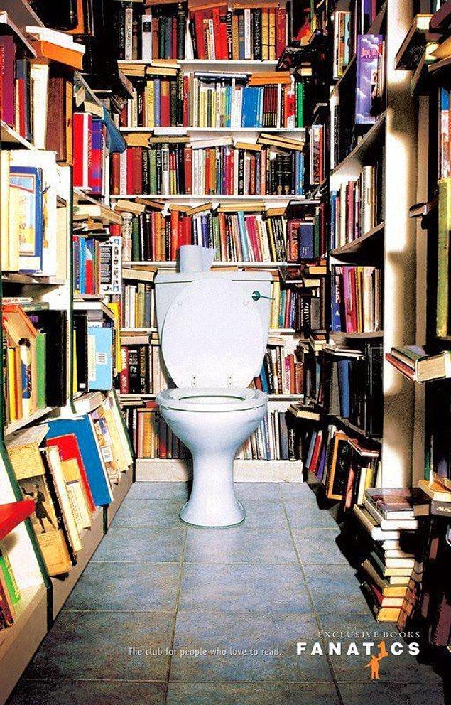 11. Bu da tuvalette uzun zaman geçirenler için :)