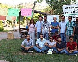Atanamayan Kürtçe Öğretmenleri Açlık Grevinde
