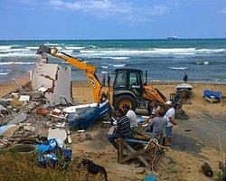 Kısırkaya'da Plaj Yıkıldı, Doğalgaz Geldi, Çevre Bakanlığı'na Devredildi