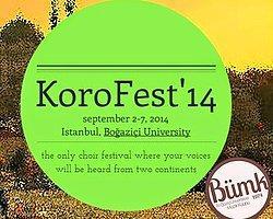 Dünyanın Tüm Koroları Korofest'de Bir Araya Geliyor
