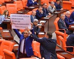 Kurtulmuş'a CHP Protestosu