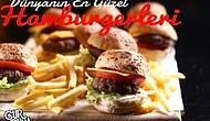 Lezzetiyle Damak Çatlatan Dünyanın En Güzel 10 Hamburgeri