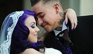 """""""Düğün Yapıyoruz Diye Tarzımızı Bozacak Değiliz"""" Diyen 20 Gotik Çift"""