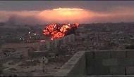 Libyanın Tobruk Kentine Düşen Jet Uçağı