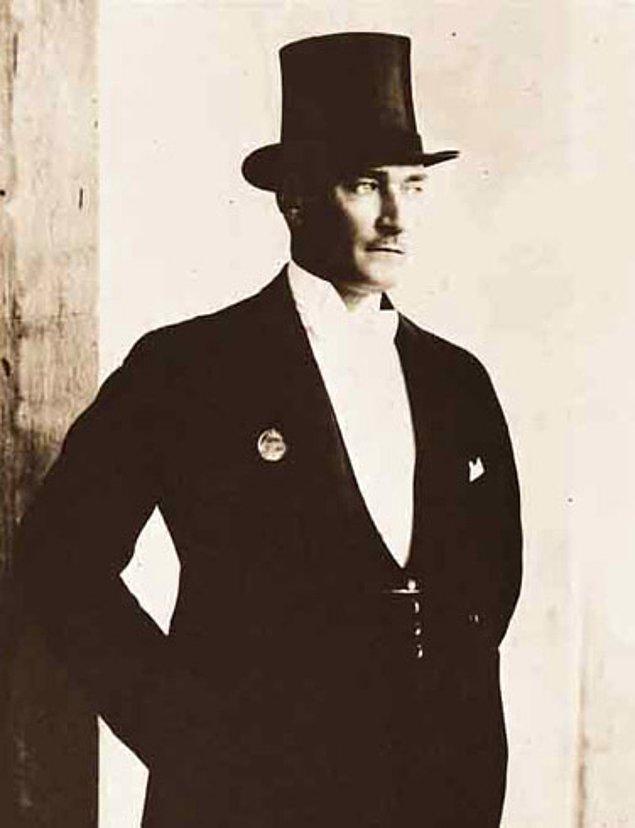 """17. """"Yeryüzünde gördüğümüz her şey, kadının eseridir."""" - Mustafa Kemal Atatürk"""