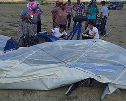 Adana'da Microlight Tipi Uçak Yere Çakıldı: 1 Ölü