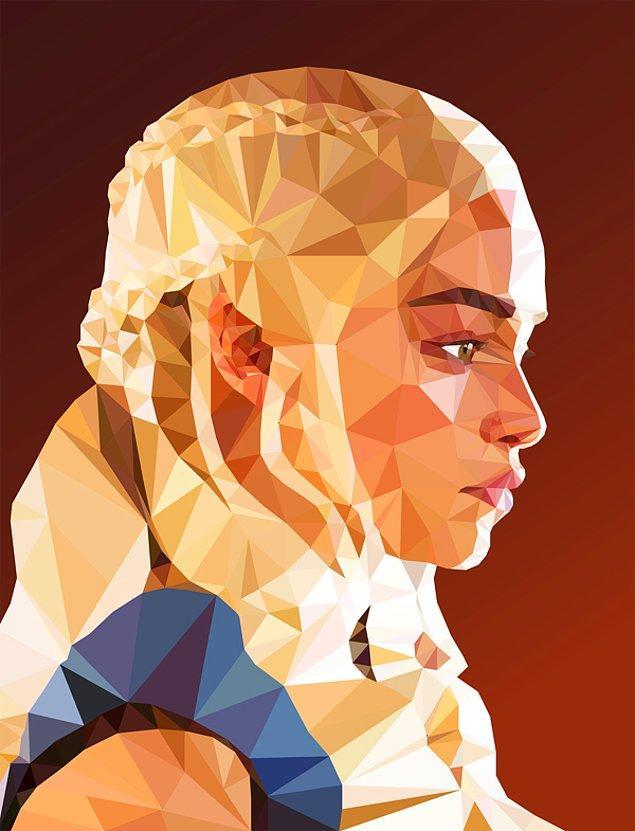 3. Daenerys Targaryen