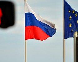 AB, Rusya'ya Karşı Yaptırımları Yürürlüğe Sokuyor