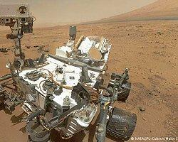 Curiosity Mars'taki Dağa Ulaştı