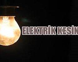 18 Eylül'de Elektrik Verilmeyecek İller...
