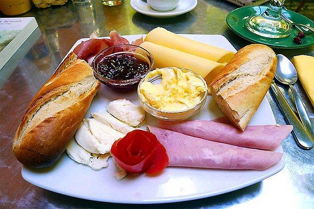 6. Brezilya kahvaltısı