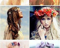 Güzelliğinize Güzellik Katacak 26 Çiçekli Taç