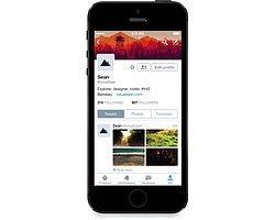 iPhone'daki Twitter'a Yeni Profil Görünümü!