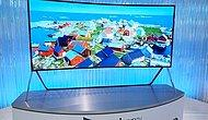 Samsung'dan Dev Bükülebilir Televizyon