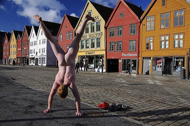 1. Bryggen, Norveç