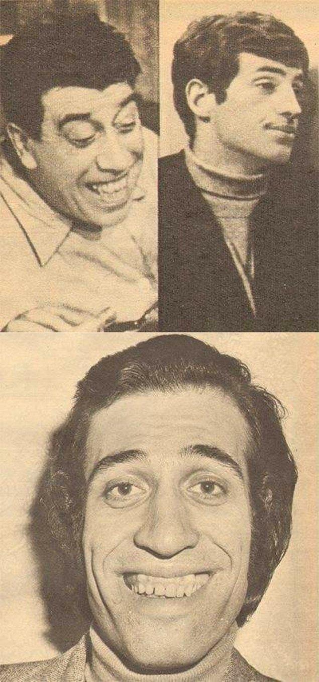 """7. Zeki Müren'in """"Biraz Fernandel, biraz Belmondo"""" diye tanımladığı Kemal Sunal."""