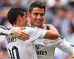 Ronaldo Real Madrid'in ve La Liga'nın En Golcü Oyuncuları Arasında