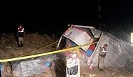 KPSS Sorularını Taşıyan Kamyonet Kaza Yaptı