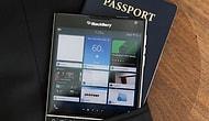 BlackBerry Passport Başarısıyla Şaşırtıyor